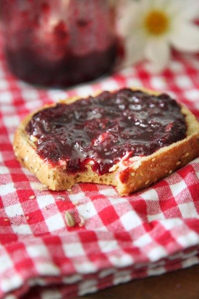 Kirsebærmarmelademad