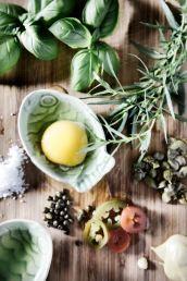 Krydderurte-mayonaise-Ingredienser