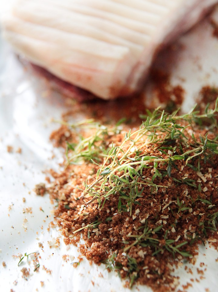 Rub / krydderiblanding til ribbensteg