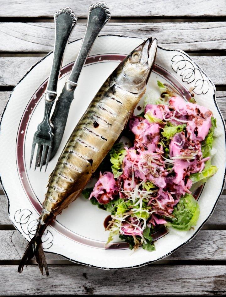 Røget-makrel-med-røbedesalat