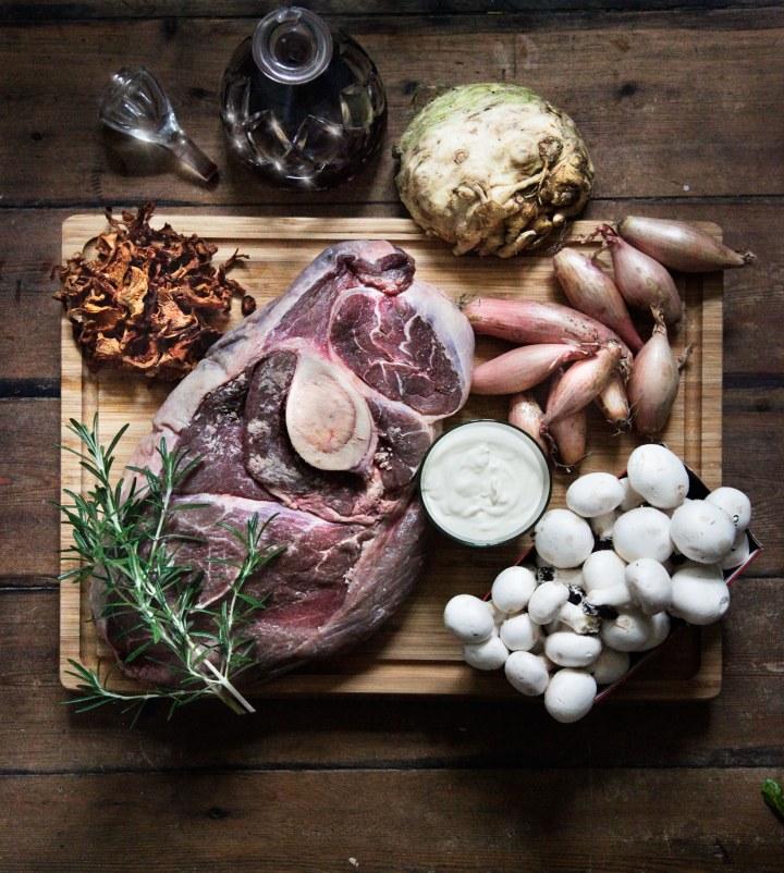 Kalveskank-svampe-opskrift-efterårsmad